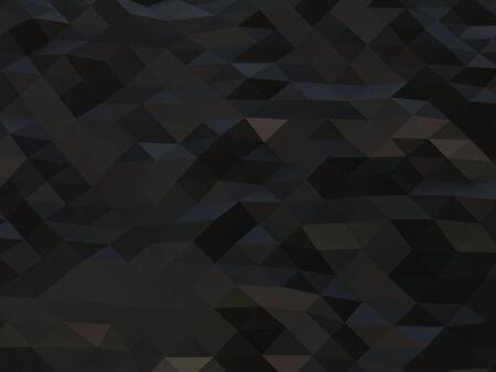 Triangular dark low poly abstract background Фото со стока