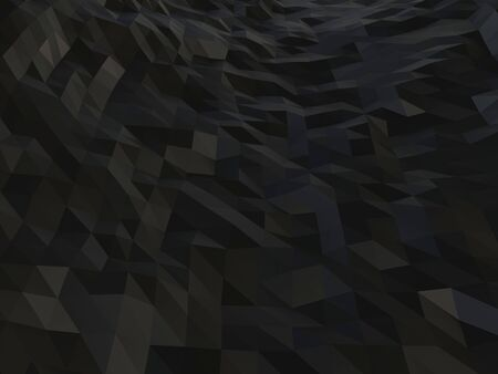 Dark low polygon abstract background