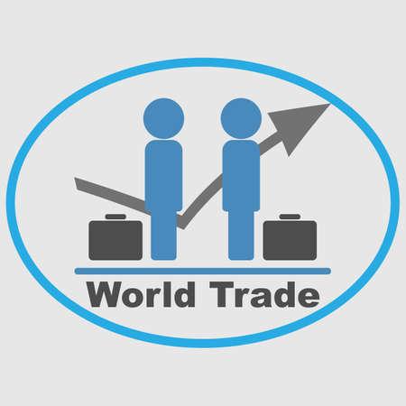 world trade: World Trade Illustration