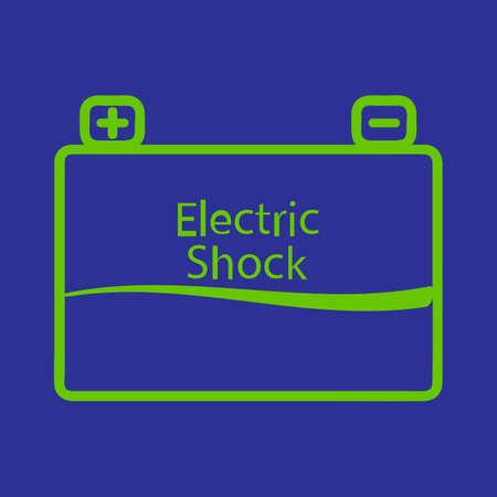 descarga electrica: Descarga el�ctrica Vectores