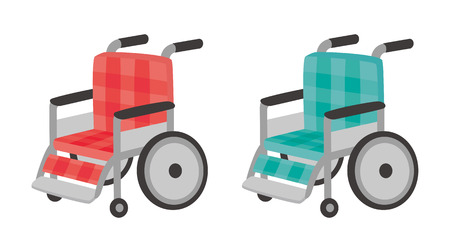 welfare: Wheelchair Illustration