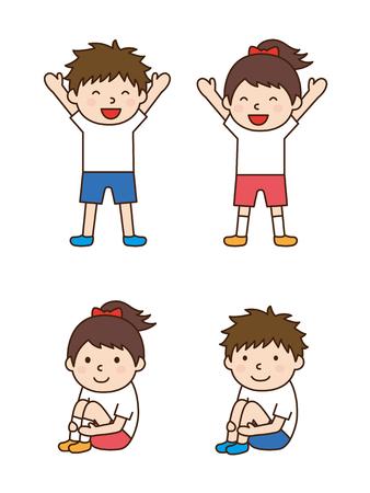 gymnastik: Kinder Gymnastik