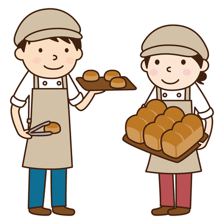 bakery store: Bakery Illustration