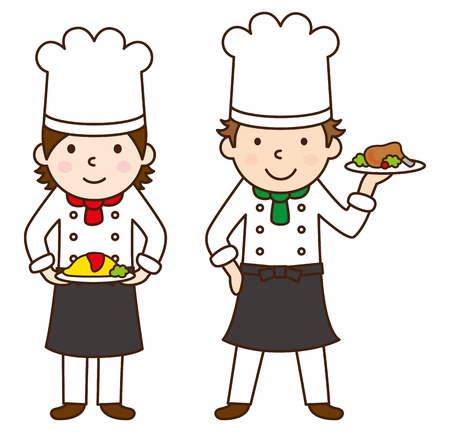Cook  イラスト・ベクター素材
