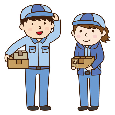 mail order: Deliveryman