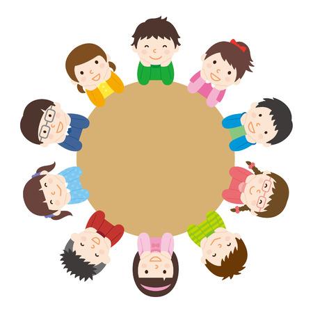 Kinder in der Diskussion