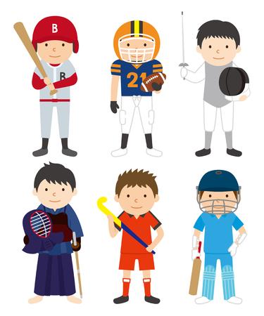 スポーツ セット男 03