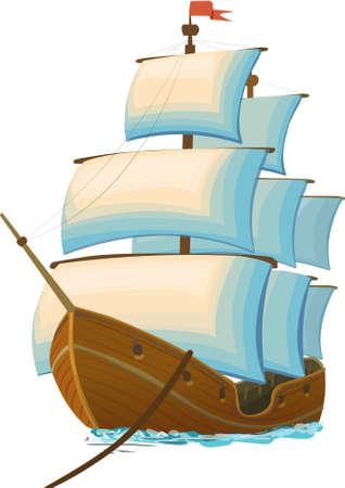 pirate boat: ship