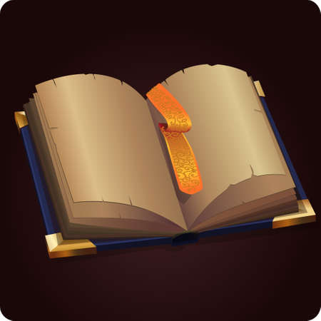 book icon game element vector
