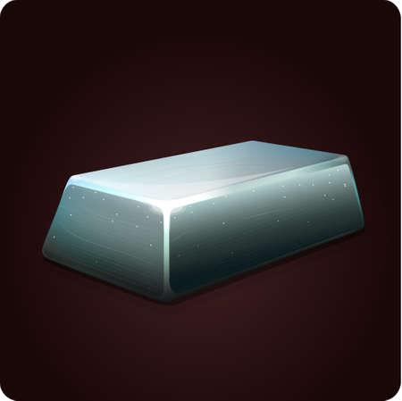 iron icon game element vector