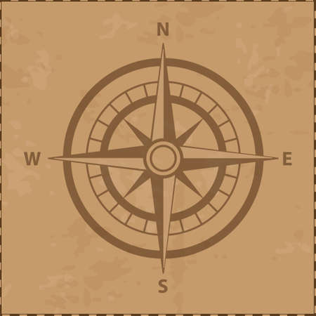 windrose icon  treasure element  oceans