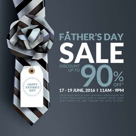 Beautiful Father's Day sale promotion design.
