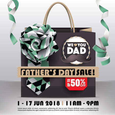 Fathers Day Sale Promotion Design