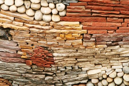 Attractive and unusual wall design, background Stock Photo - 7486289