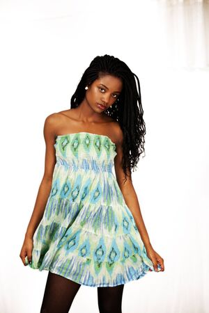 Sensual and lovely african girl photo