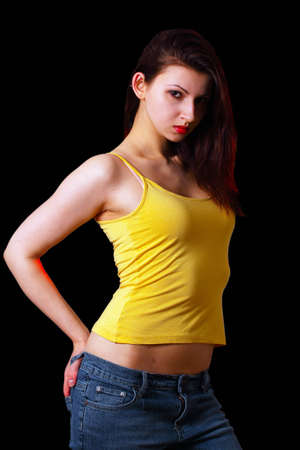 Young attractive woman Stock Photo - 9246618