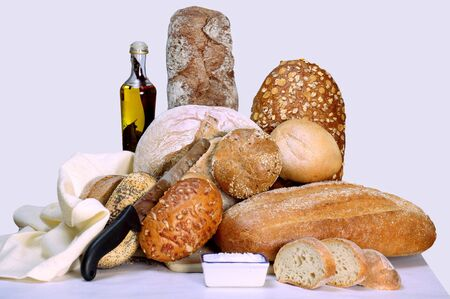 Breads on display Stock Photo - 9500028