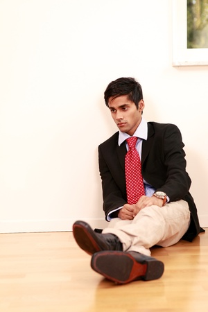 Dejected young man Stock Photo - 10633260