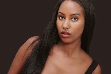 mannequin africain: Belle femme