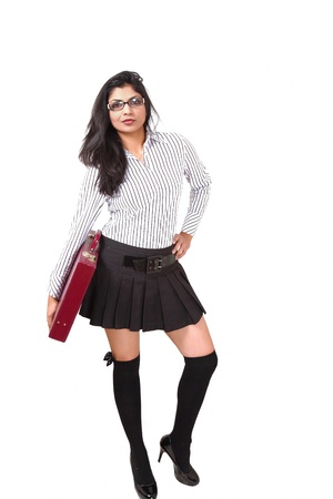 Young businesswoman with attitude photo