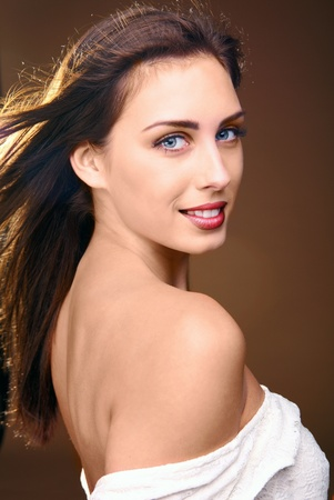 Beautiful woman fashion portrait Stock Photo - 11597305