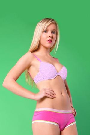 Young woman lingerie fashion portrait Stock Photo - 11791780