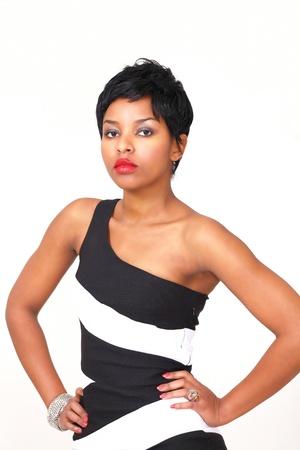 sophisticated: Beautiful fashion model