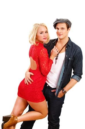 denim jacket: Fashion couple