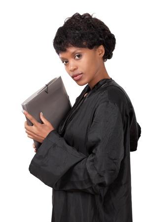advocate: Abogada de una joven agraciada Foto de archivo