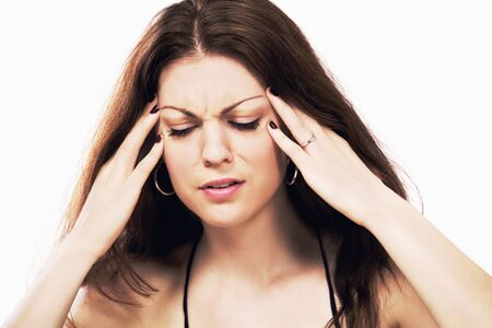 Headache migraine Stock Photo - 13619593