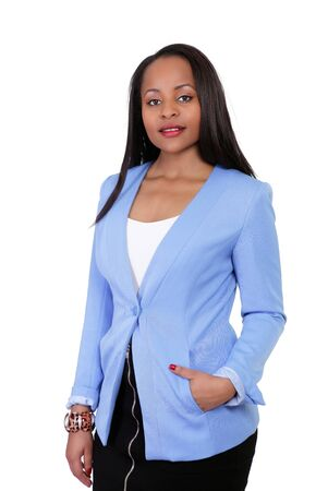 the sincerity: Smart young ethnic businesswoman