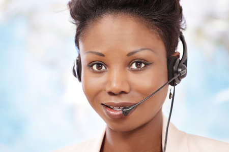 Global telephone operator providing phone service photo