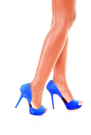 Pretty legs in heels Stock Photo - 14875530