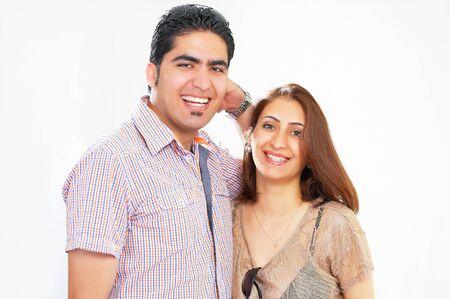honeymooners: Happy couple