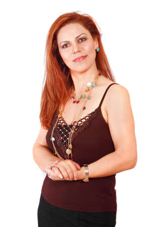Confident successful self-employed businesswoman photo