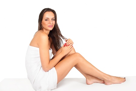 Spa beauty treatment skin and body care woman Stock Photo - 22082866