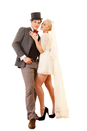ardent: Ardent wedding couple - just married