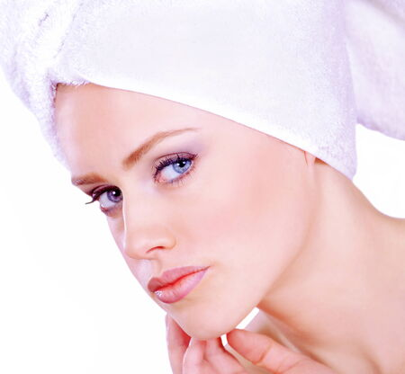 pretty woman face: Pretty woman face care and beauty