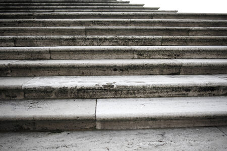 stone steps: Old stone steps, background in horizontal