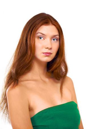 unmarried: Hermosa mujer soltera Foto de archivo