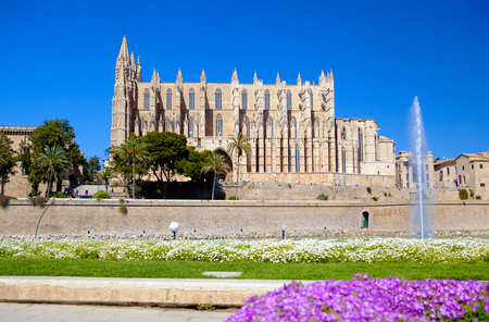 palma: Cathedral of Santa Maria at Palma, Mallorca, Spain