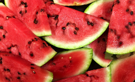 Background of fresh ripe watermelon