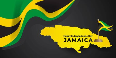 Jamaica independence day design