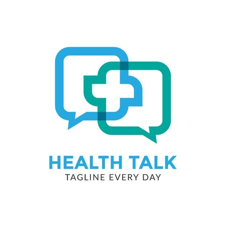 Health consulting logo design template