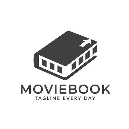 Documentary movies logo designs Vettoriali