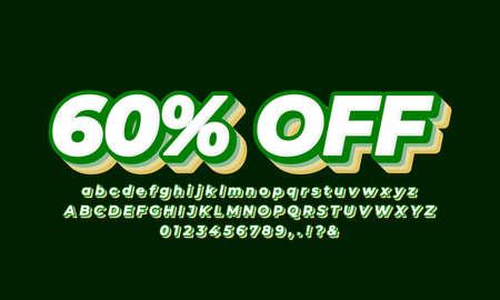 60% off sale green vintage