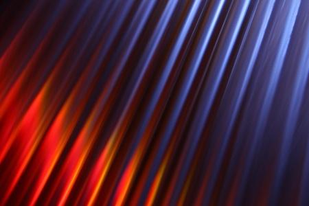 Background macro with coloured reflection photo