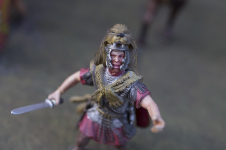 roman empire: Miniature of roman empire warrior