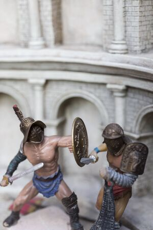 roman empire: Miniature of roman empire