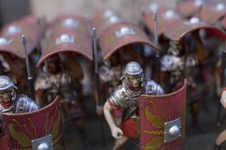 phalanx: Miniature of roman empire